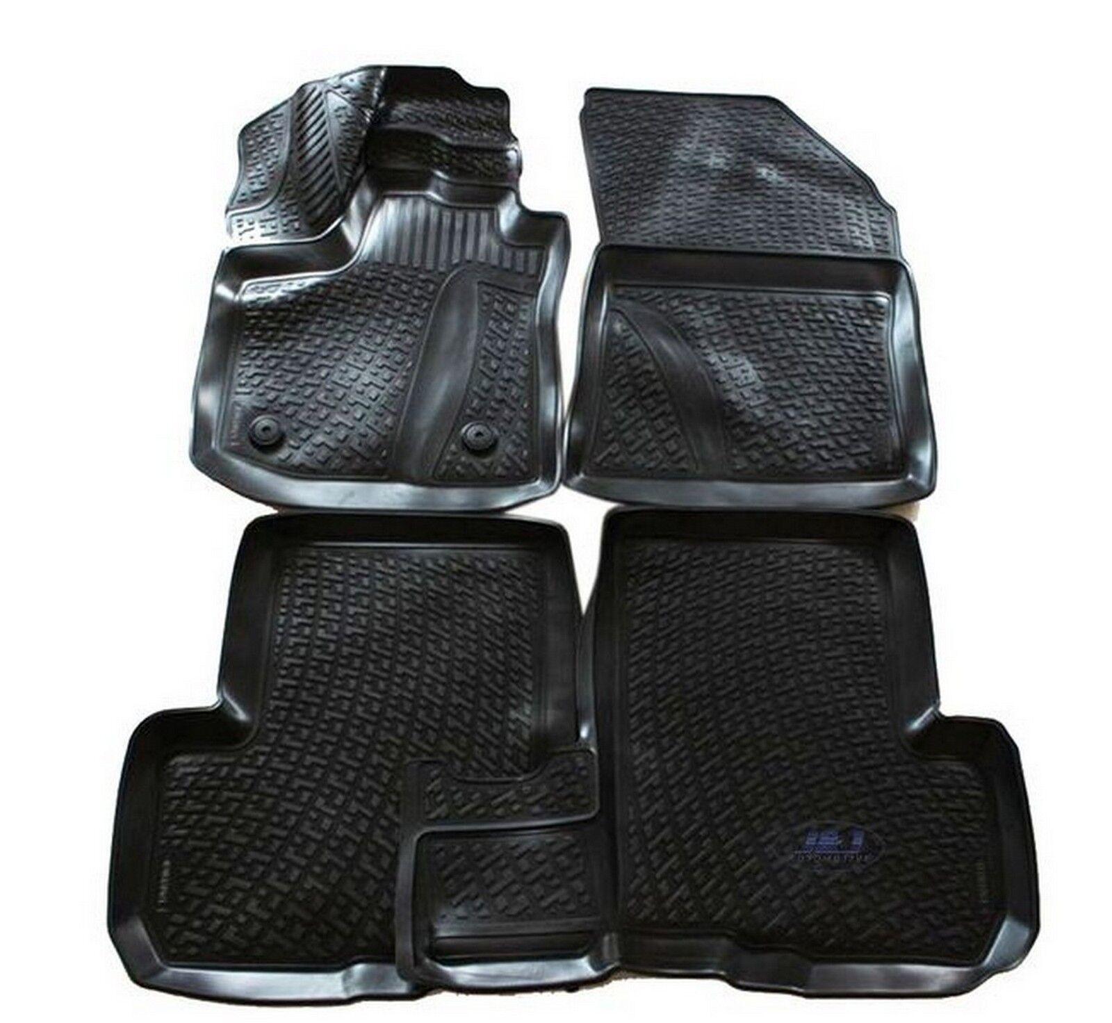 3d exclusive tapis de sol en caoutchouc pour dacia lodgy 2012 pr s 4pcs ebay. Black Bedroom Furniture Sets. Home Design Ideas