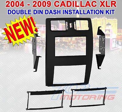 99-3026B 2004 - 2009 CADILLAC XLR DOUBLE DIN DASH INSTALL BEZEL FACTORY FINISH