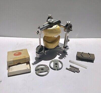 Vintage 1960s Hanau Articulator Model Orthodontic Dental Medical Oddity