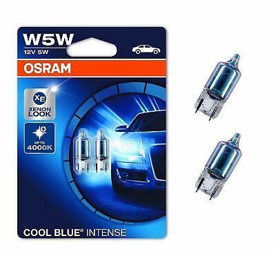Osram Cool Blue Intense Standlicht Weiß Blau W5W Xenon Effekt für Audi A6 & A8