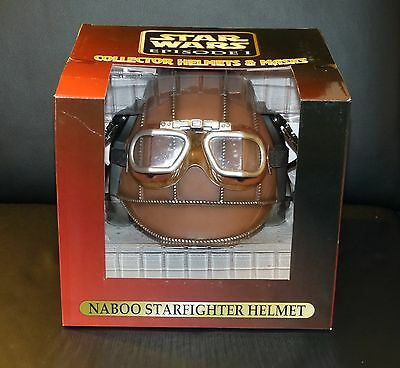 NEU! Star Wars Naboo Starfighter Helm Don Post Studios 1:1 Replikat Rar Helmet