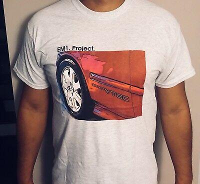 Honda Civic Si EM1 T-Shirt. Honda VTEC. Honda Racing. ()