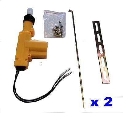 UNIVERSAL POWER DOOR LOCK ACTUATOR MOTOR 12 Volt Car Auto Brand New x (Power Lock Motor)
