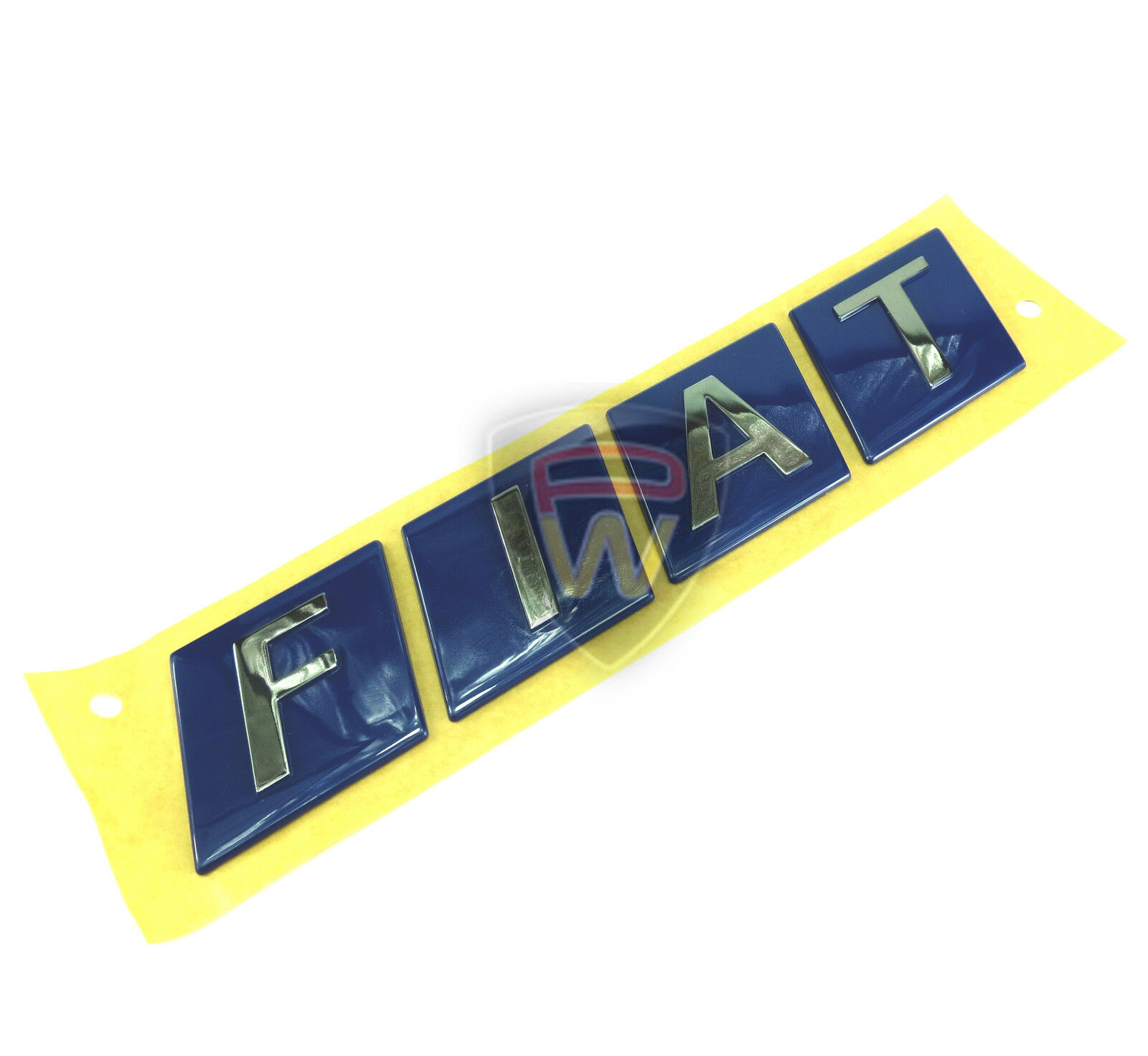 Fiat ducato power badge chrome effet 84mm x 10mm genuine fiat 1347957080
