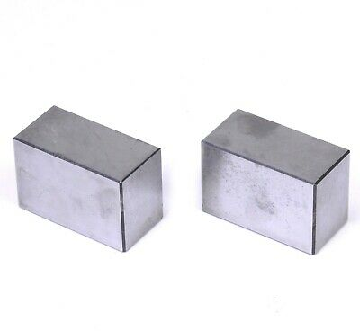 Pair Hardened Steel Precision Machinist Set Up Parallel Blocks 3x1.5x2