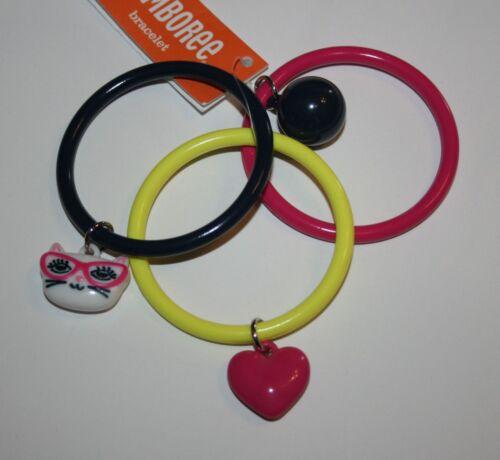 New Gymboree Charm Bangle Bracelets One Size NWT Bright Ideas Bracelet Jewelry