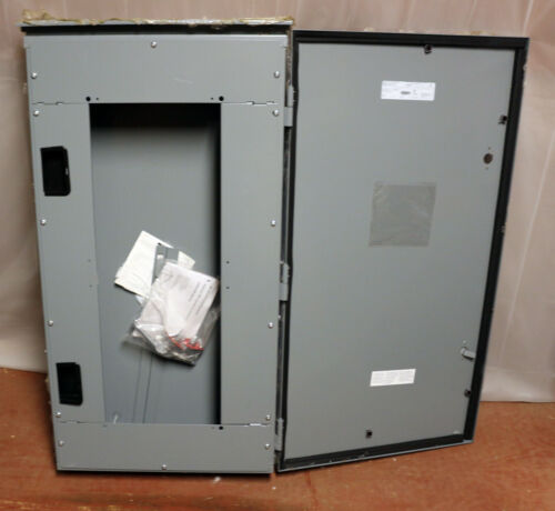 SQUARE D Outdoor Weatherproof Electrical Panel Enclosure MH38WP 38x20x6.5 3R 4X