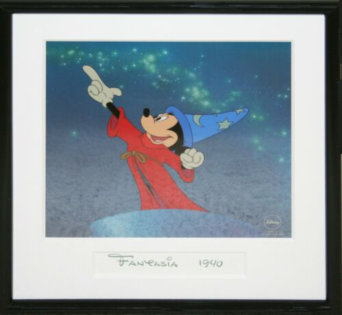 """Serigraph Cel """"Sorcerer Mickey"""" Produced in 1998 - Limited Edition"""