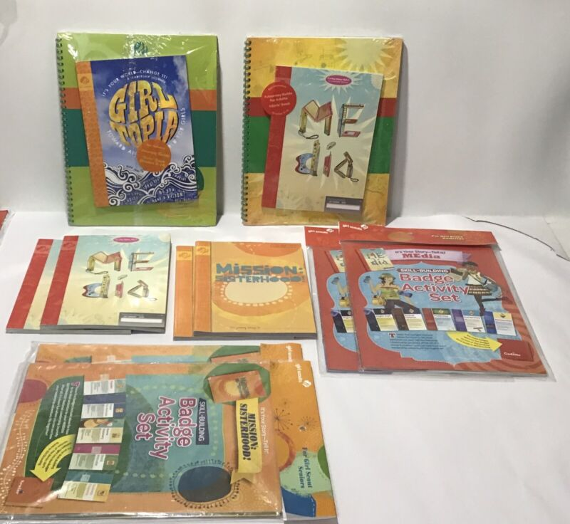 Assorted Girl Scouts Journey Books, Adult Guides & Activity Sets New