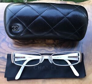 4d6dc9ef7169 Chanel Eyeglasses Frames + Case + Cloth