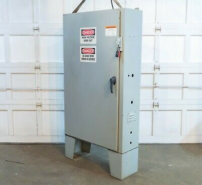 Hoffman A60sa3812lppl Steel Electrical Enclosure Electric Box 60 X 38 X 12