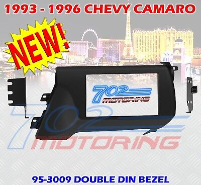 1993 - 1996 CHEVROLET CAMARO DOUBLE DIN CAR STEREO RADIO DASH INSTALLATION KIT  ()