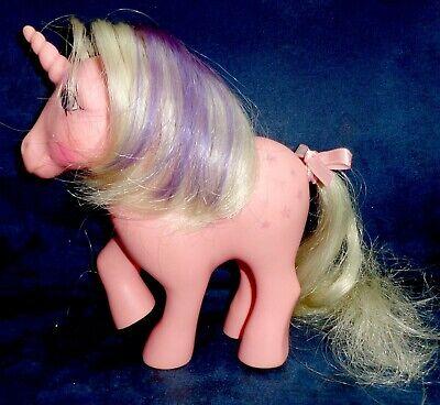 Rose: My Little Pony Vintage Unicorn Twilight #2 VERY GOOD glittery symbols G1