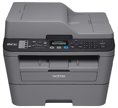 Brother All-in-One Monochrome Laser Printer Wireless 24ppm Home Office