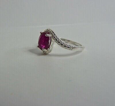 RUBY 925 SILVER RING