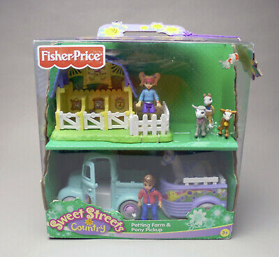 Fisher Price Sweet Streets Country Petting Farm and Pony Pickup 2005 in box