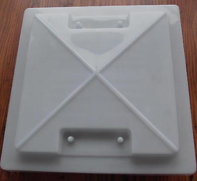 Dachluke MPK Modell 29 cremeweiß Dachhaube für Aussch… |
