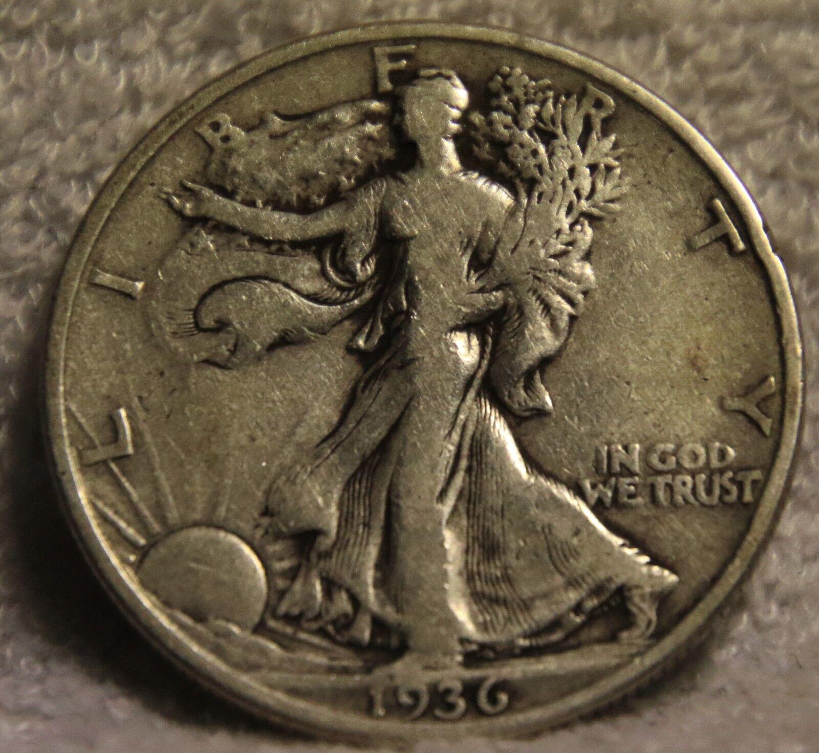 1936 Walking Liberty Half Dollar - $14.95