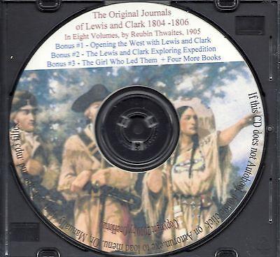 Lewis and Clark Journals - 1804-1806 Expedition + Bonus Books