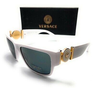 Versace VE4369 401 87 White Men's Pillow Sunglasses 58-17