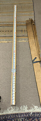 Vintage David White Surveyors Grade Realist Transit Rod 8 480 Stick Pole