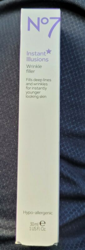 No7 Instant Illusion Wrinkle Filler 1oz~Brand New from No7! New/Sealed! TRY IT!!