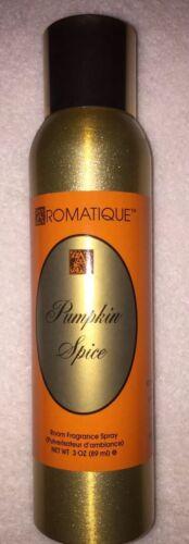 Aromatique PUMPKIN SPICE Decorator Room Fragrance Sprays 3 O