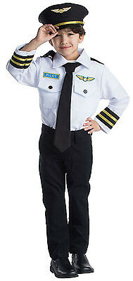 Pilot Costume For Child (Airline Pilot Role Play Set Costume For Kids- Age 3-6 By Dress up)