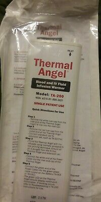 Lot Of 2 Thermal Angel Blood Iv Fluid Infusion Warmer Model Ta-200 3521