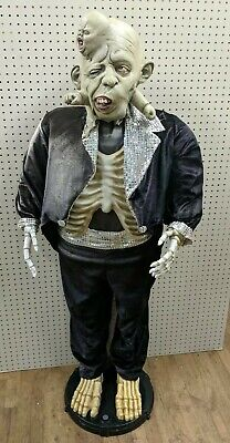 RARE Custom GEMMY 5ft Animated Singing Dancing KARAOKE Life Size creature