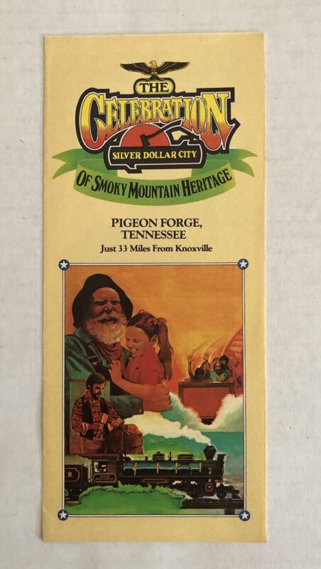 Vintage Silver Dollar City Celebration Of Smoky Mt Heritage Brochure 1982