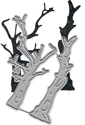 Dies...to die for metal cutting craft die Spooky Dead Trees - Halloween Fall](Spooky Trees For Halloween)