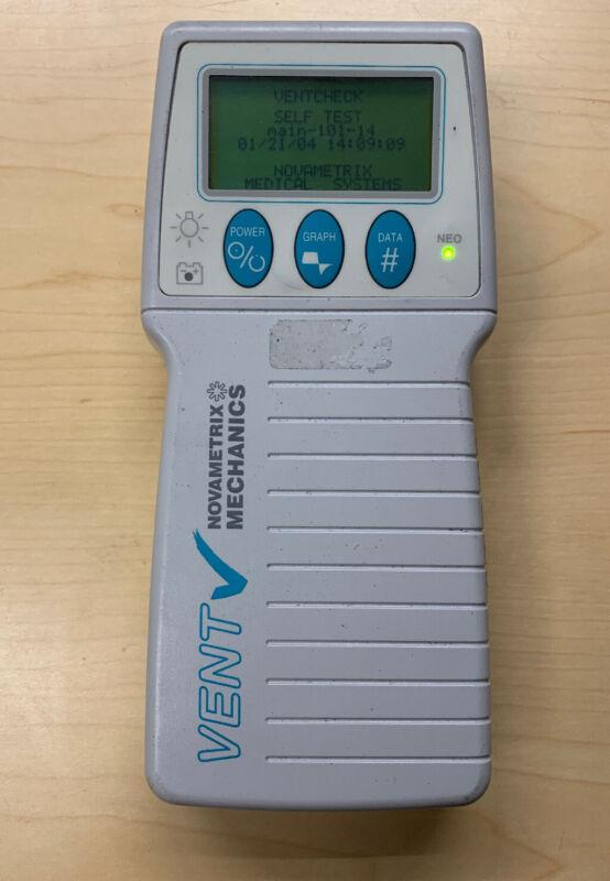 Novametrix Ventcheck Vent Monitor Model 101