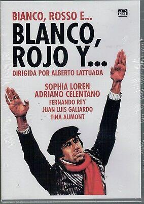 Blanco rojo y... (DVD Nuevo)