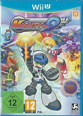 Wii U Mighty No 9 Ray Edition (German Cover) BRAND NEW English gameplay