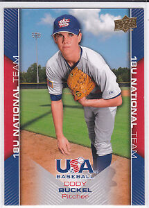 Cody-Buckel-Texas-Rangers-2009-UD-USA-Box-Set-National-Team-Card