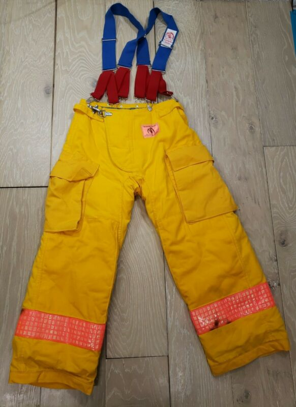 Morning Pride Turnout Gear Pants Size 27x27 Model 1140 Nomex - Small Female EUC