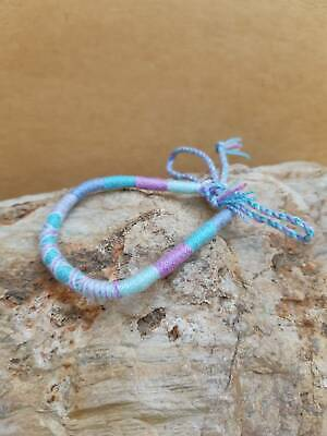 Kids Friendship Bracelets (Friendship Bracelet Adjustable Kids Women Handmade Woven cotton cord Beach Surf )