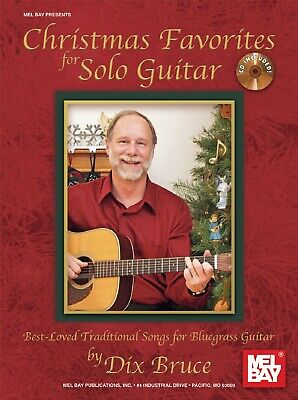 MEL BAY 20973BCD Christmas Favorites for Solo Guitar (Book and CD) Best-Loved