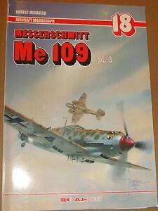 Messerschmitt Me 109 pt.3 Monograph AJ Press - English Edition!!! - Reda, Polska - Zwroty są przyjmowane - Reda, Polska