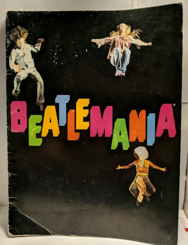 BEATLEMANIA Original Broadway production Program book-vintage