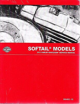 2012 Harley Softail Fls Fxc Repair Service Workshop Shop Manual Book 99482 12