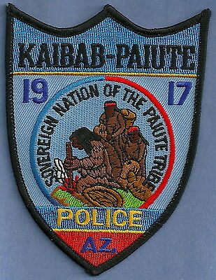 KAIBAB PAIUTE ARIZONA INDIAN TRIBAL Police PATCH
