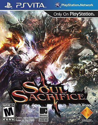 Soul Sacrifice (Sony PlayStation Vita, 2013) NEW
