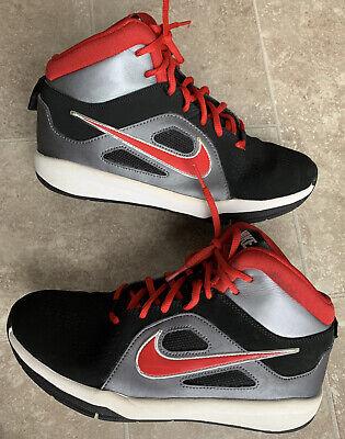NIKE 599187-006 Team Hustle D 6  Basketball Shoes Boys Big Kids Size 7Y