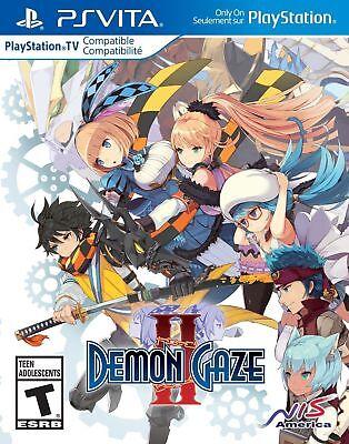 Demon Gaze II (Sony PlayStation Vita, 2017)