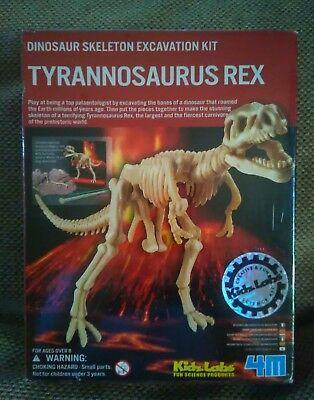 New Kidz Labs T-Rex Dinosaur Skeleton Excavation Kit Tyrannosaurus Model