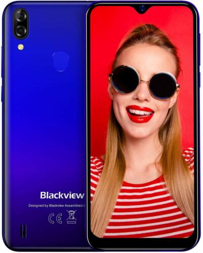 Android Phone - Blackview A60 Pro 3GB+16GB Smartphone 4080mAh 4G Mobile Phone Android 9.0 Pie