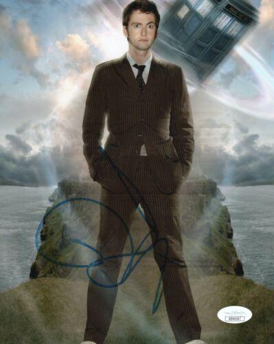 David Tennant Doctor Who Autographed Signed 8x10 Photo JSA COA #5