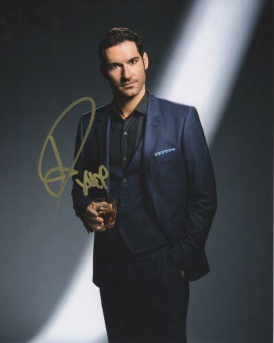 Tom Ellis Lucifer Autographed Signed 8x10 Photo COA 2019-2